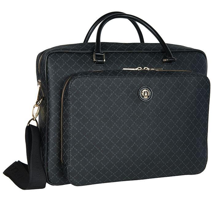 5b160c3545 Εικόνα της Επαγγελματική τσάντα μεγάλου μεγέθους (λογότυπο) - Μαύρη