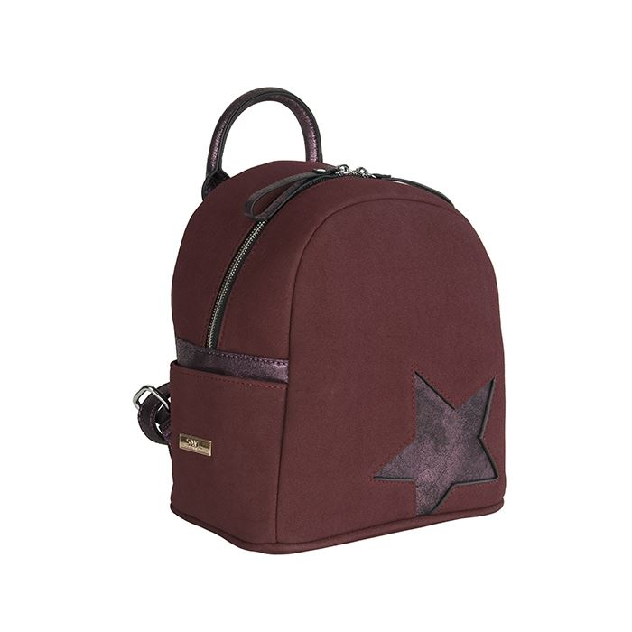Γυναικεία τσάντα πλάτης 18-13 μπορντώ  9b82e912e12