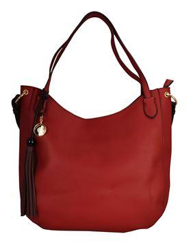 Εικόνα της  Γυναικεία τσάντα ώμου GUS-18s04 red