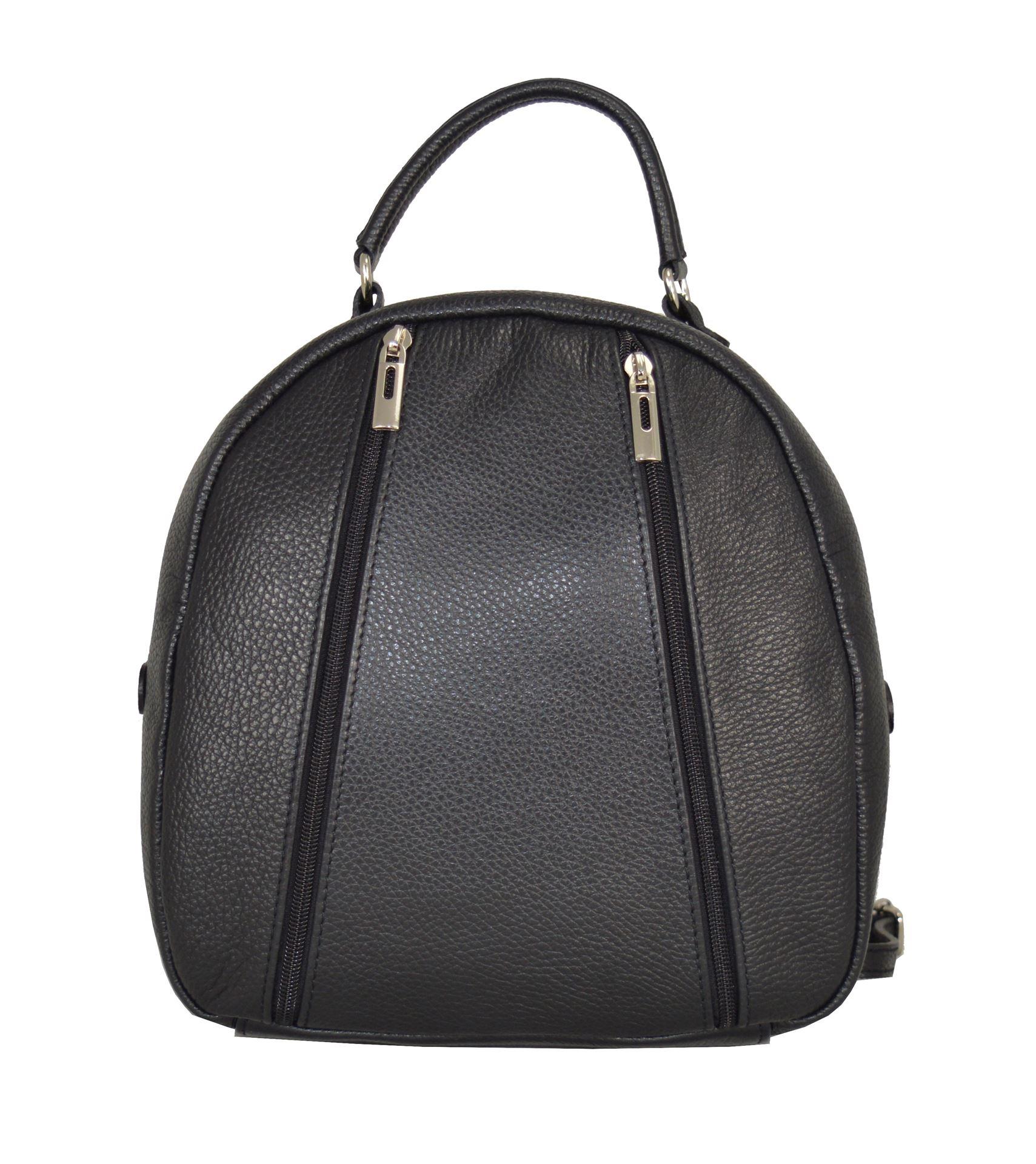 Εικόνα της Δερμάτινη γυναικεία τσάντα πλάτης PE-18002 μαύρη 50a990f86f7