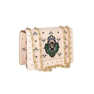 Εικόνα της  Μικρή γυναικεία τσάντα ώμου με αλυσίδα τρουκς ΜΠΕΖ 36- 171031-2BZ