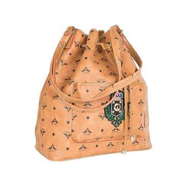 Εικόνα της Γυναικεία τσάντα ώμου πουγκί οικόσημο Ταμπά 36-181003-1
