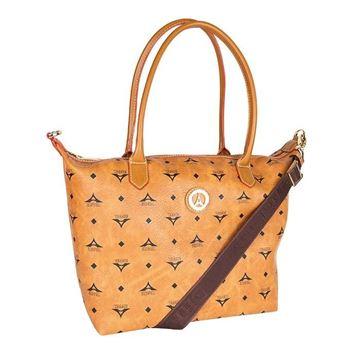Εικόνα της Μεγάλη γυναικεία τσάντα ώμου Ταμπά 36-171007-2