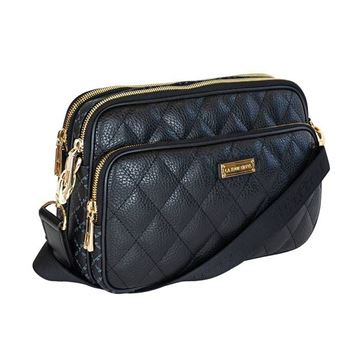 Εικόνα της Γυναικεία τσάντα χιαστί Μαύρο 171-112018-3