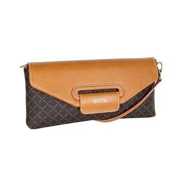 Εικόνα της Γυναικεία τσάντα χιαστί Καφέ- 171-181032-1