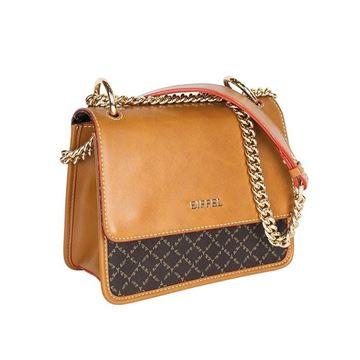 Εικόνα της Γυναικεία τσάντα ώμου με αλυσίδα Ταμπά 171-181028-1