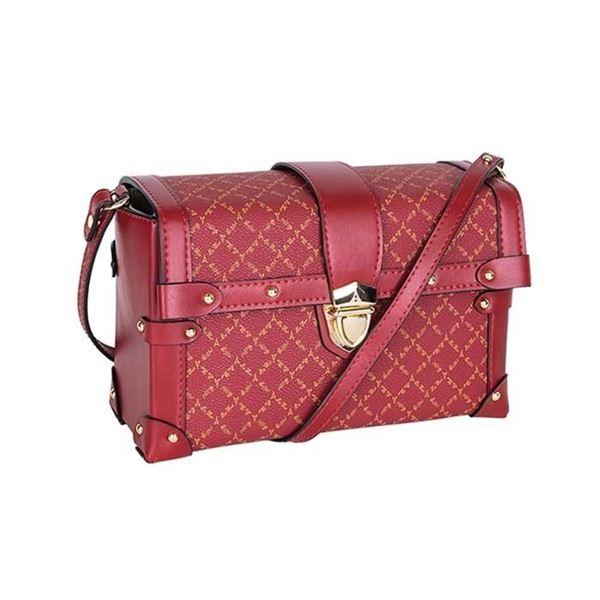 Εικόνα της Γυναικεία τσάντα χιαστί Κόκκινο 171-181025-2