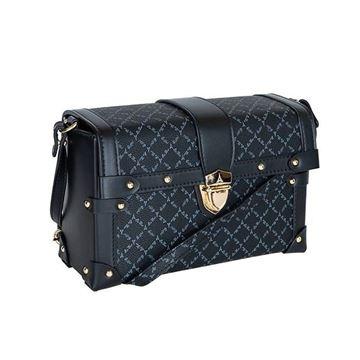 Εικόνα της Γυναικεία τσάντα χιαστί -Μαύρο 171-181025-2