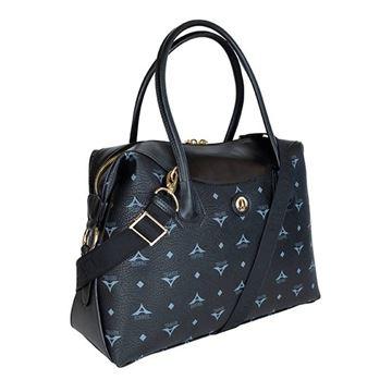 Εικόνα της  Μεγάλη γυναικεία τσάντα ώμου Μαύρη 171-171025-