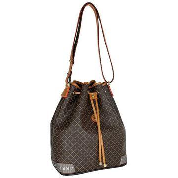 Εικόνα της  Γυναικεία τσάντα ώμου πουγκί ΚΑΦΕ 171-10495-6