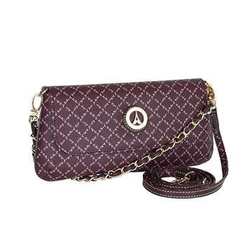 Εικόνα της  Μικρή γυναικεία τσάντα πολυμορφική  μωβ 171-8910