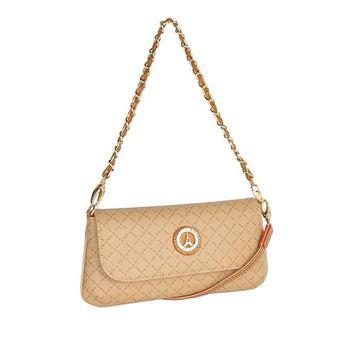 Εικόνα της   Μικρή γυναικεία τσάντα πολυμορφική  μπεζ 171-8910
