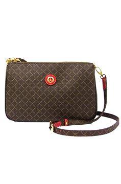 Εικόνα της  Γυναικεία τσάντα χιαστί καφέ 171-111090-4Ε