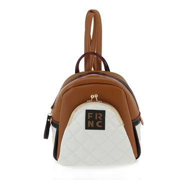Εικόνα της  Γυναικεία τσάντα πλάτης μικρή  ΤΑΜΠΑ 906 FRNC