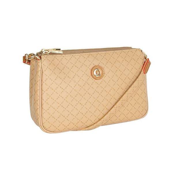Εικόνα της  Γυναικεία τσάντα χιαστί μπεζ 171-111090-4Ε