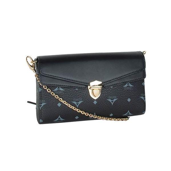 Εικόνα της  Γυναικεία τσάντα χιαστί μαύρο 36-191008-1