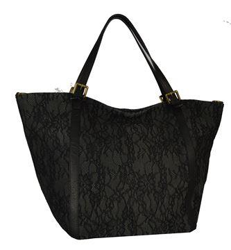 Εικόνα της  Μεγάλου μεγέθους  τσάντα-pe-s7s1- Black