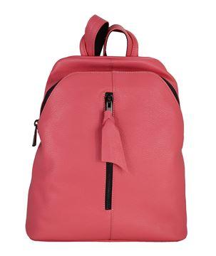 Εικόνα της  Δερμάτινη  γυναικεία τσάντα πλάτης  PE-18013-fouxia