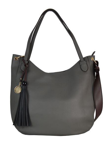 Εικόνα της  Γυναικεία τσάντα ώμου GUS-18s04 grey