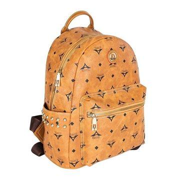 Εικόνα της Γυναικεία τσάντα πλάτης με τρουκς Ταμπά 36-181046-1Α