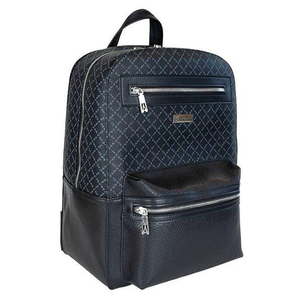 Εικόνα της Γυναικεία τσάντα πλάτης Μαύρο 171-161009-3Α