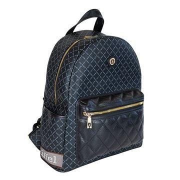 Εικόνα της Γυναικεία τσάντα πλάτης Μαύρο 171-142030-3V