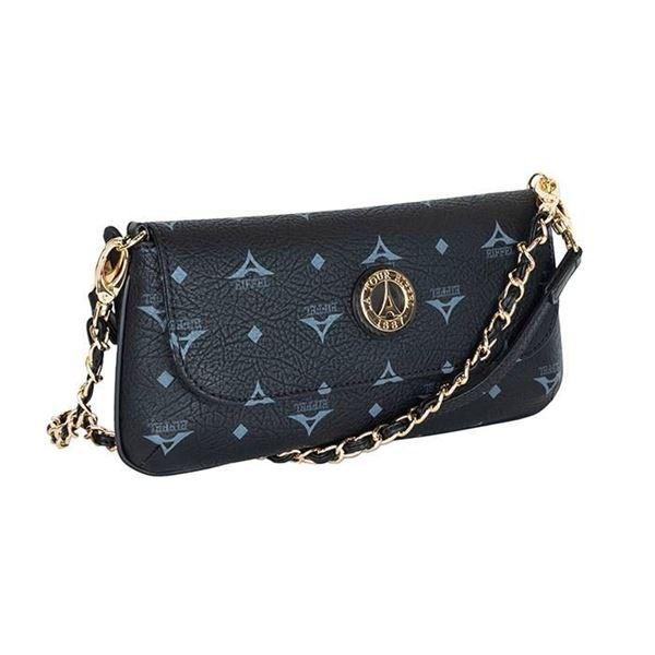 Εικόνα της Μικρή γυναικεία τσάντα πολυμορφική Μαύρη  36-8910
