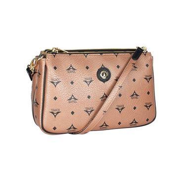 Εικόνα της Γυναικεία τσάντα χιαστί Μπρονζέ 36-111090-4Ε