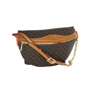 Εικόνα της  Γυναικεία τσάντα μέσης Καφέ 171-181015-1