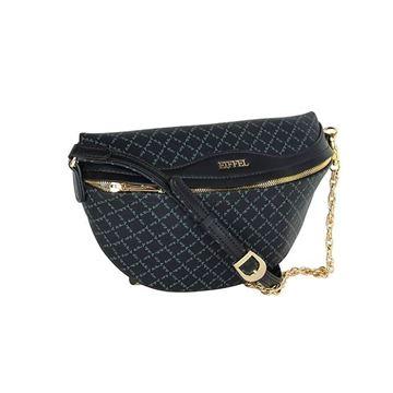 Εικόνα της  Γυναικεία τσάντα μέσης Μαύρο 171-181015-1