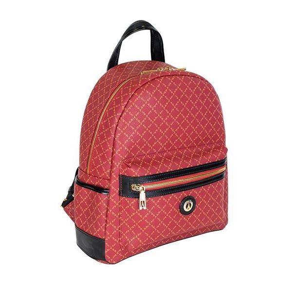 Εικόνα της  Γυναικεία τσάντα πλάτης κόκκινη 142030-3Μ la tour eiffel