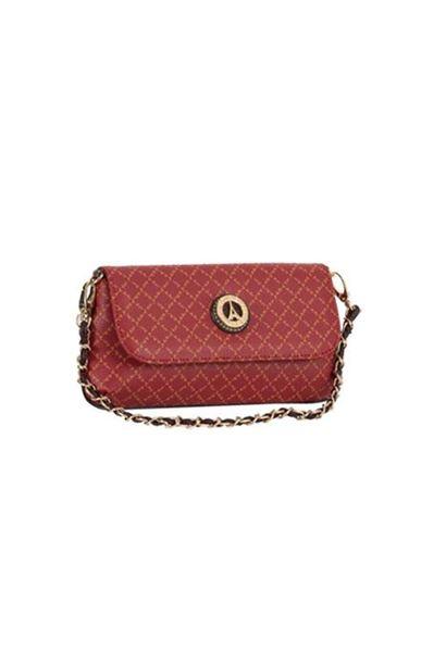 Εικόνα της Μικρή γυναικεία τσάντα πολυμορφική κόκκινη  36-8910