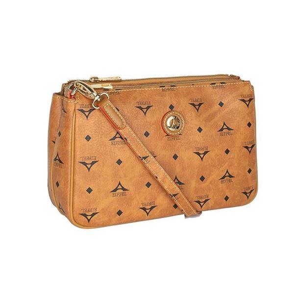 Εικόνα της Γυναικεία τσάντα χιαστί ταμπά 36-111090-4Ε