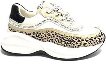 Εικόνα της SNEAKERS G&G   Ecopelle Bianco/Leopardo GS46