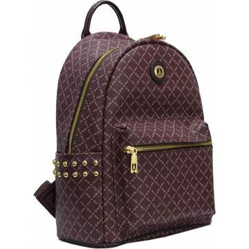 Εικόνα της  Γυναικεία τσάντα πλάτης με τρουκς purpple  171-181046-1Α