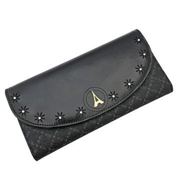 Εικόνα της  Γυναικείο πορτοφόλι με στρασάκια μαύρο 171021-3