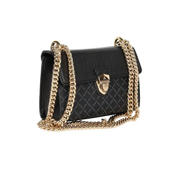 Εικόνα της  Μικρή γυναικεία τσάντα με αλυσίδα μαύρη 171-181024