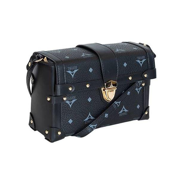Εικόνα της  Γυναικεία τσάντα χιαστί μαύρη 36-181025-2