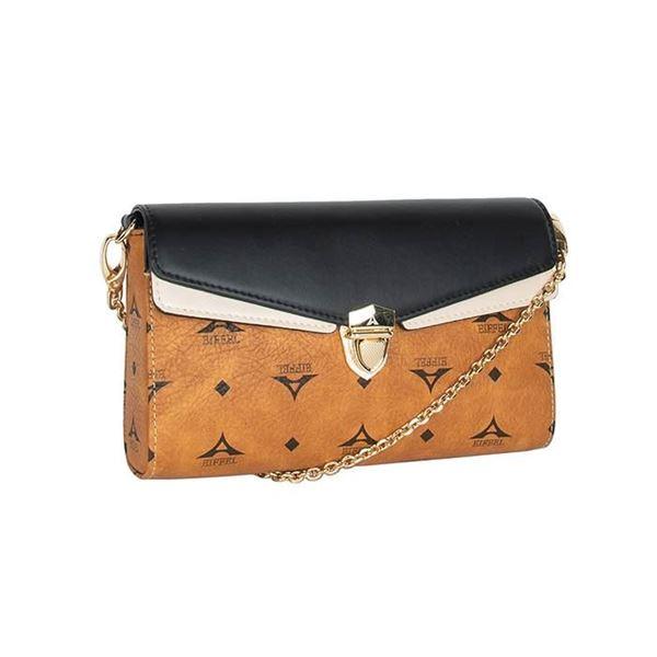Εικόνα της Γυναικεία τσάντα χιαστί ταμπά 36-191008-1