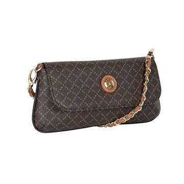Εικόνα της    Μικρή γυναικεία τσάντα πολυμορφική  καφέ171-8910 la tour eiffel
