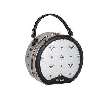 Εικόνα της Γυναικεία τσάντα χειρός/χιαστί Ασημί 36-201012-1