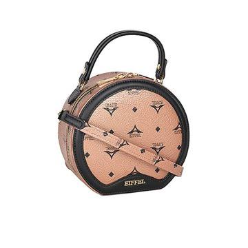 Εικόνα της Γυναικεία τσάντα χειρός/χιαστί μπρονζέ 36-201012-1