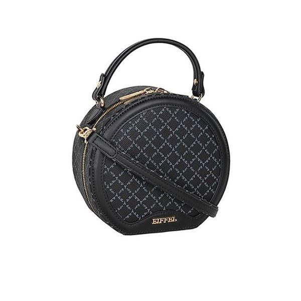 Εικόνα της Γυναικεία τσάντα χειρός/χιαστί μαύρο 171-201012-1