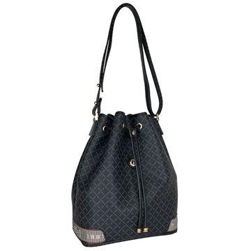 Εικόνα της  Γυναικεία τσάντα ώμου πουγκί ΜΑΥΡΟ 171-10495-6