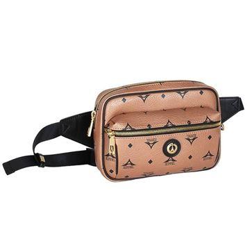Εικόνα της Γυναικεία τσάντα μέσης Μπρονζέ 36-191028-1 la tour eiffel