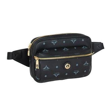 Εικόνα της  Γυναικεία τσάντα μέσης Μαύρο 36-191028-1 la tour eiffel