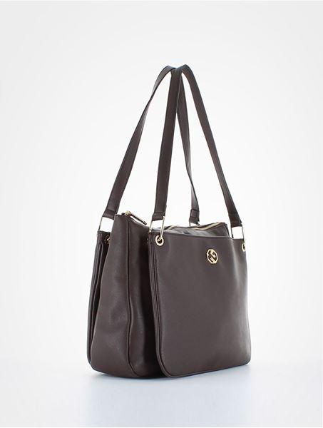 Εικόνα της    Γυναικεία τσάντα ώμου καφέ  MARINA GALANTI  13SG3