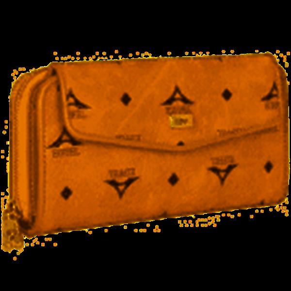 Εικόνα της  Γυναικείο πορτοφόλι μεγάλου μεγέθους με δύο διαφορετικές θήκες - ταμπά 36-112025