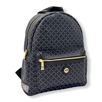 Εικόνα της  Μεγάλη γυναικεία τσάντα πλάτης Μαύρο 171-142030-3