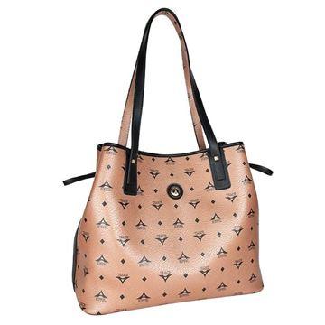 Εικόνα της Γυναικεία τσάντα ώμου μπρονζέ 36-171034-2Ε la tour eiffel